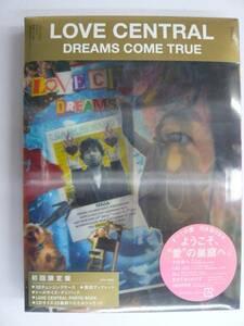 新品 DREAMS COME TRUE LOVE CENTRAL 初回限定盤 ドリカム