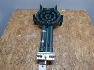 14-20569 タチバナ 鋳物コンロ3重 バーナー 都市ガス TS-330 店舗用品 厨房機器 ガスコンロ 3重 厨房 業務用調理機器 バーナーのみ 卓上