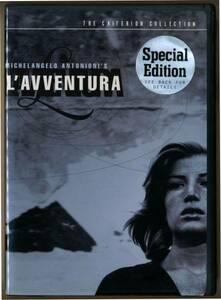 中古 DVD2枚組 L' avventura 情事 ミケランジェロ・アントニオーニ Antonioni モニカ・ヴィッチ US盤 クライテリオン Criterion