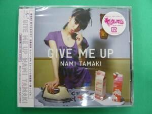 新品 玉置成実 GIVE ME UP 初回限定盤A CD+DVD