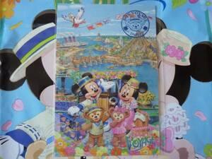 即決♪新品未使用♪東京ディズニーシー ミッキーとダッフィーのスプリングヴォヤッジ 2012 ポストカード♪TDR TDL TDS♪