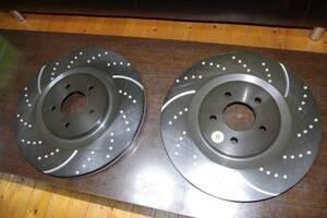 Ford, Mustang,GT500, slit rotor, brake, slit & drilled big b rotor!!