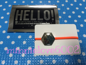 EXO* Gris pa*Greeting Party Hello* official goods * hair elastic * orange