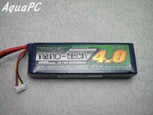 AquaPC★Turnigy nano-tech 4000mah 4S 35-70C Lipo Pack★