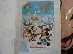 即決☆新品☆東京ディズニーランド 25周年記念 クリスマスファンタジー2008テレホンカード テレカ TDR TDL TDS♪