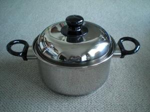 両手鍋20㎝ ステンレス製
