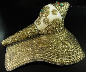 ◆チベット密教法具 法螺貝(シャンカ)2