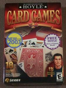 Hoyle Card Games 2003 (Sierra) PC CD-ROM