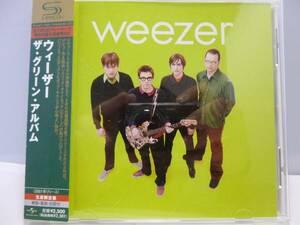 レア SHM-CD ウィーザー グリーン アルバム weezer/green album