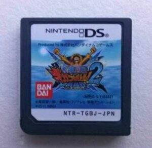 DSソフト ONE PIECE ギガントバトル!2 新世界 ギガバト2 ニューワールド ワンピース ケースなし 送料無料 ルフィ ゲームソフト 中古