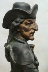 ブロンズ像 鼻の曲がった紳士 西洋彫刻 戦前購入 銅or真鍮