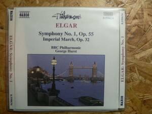 輸入盤CD エルガー 交響曲第1番/ジョージ・ハースト