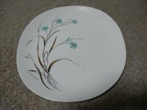 @@ 昭和レトロ 昭和中期 toyotoki 東洋陶器 インテリア 雑貨 染付 皿  口径27cm