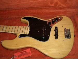 フェンダージャパン ジャズベース 極上! Fender JB75 JAZZ BASS 美品 アクティブ プロザグリ加工 2006-08年 メイプル指板 ブロックインレイ