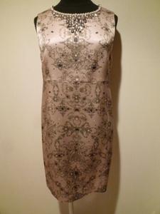 ◆グレースクラス(グレースコンチネンタル)ジュエルスカーフプリントワンピース スカーフ柄ドレス☆レディース