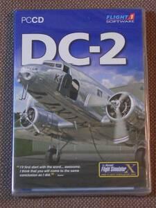 DC-2 / FSX, FS 2004 (Flight 1) PC CD-ROM