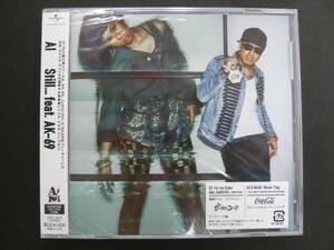 新品 AI feat.AK-69 Still...  初回限定盤CD+DVD