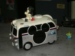 * супер изящный кнопка ngo-[TDL/ Mickey resort автобус ] б/у *boxman_77