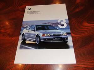 ★【BMW 3シリーズクーペ 328Ci】カタログ/1999年/美品