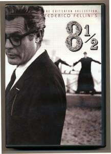 中古 DVD2枚組 8 1/2 フェデリコ・フェリーニ 特典映像 ニーノ・ロータ ドキュメンタリー クライテリオン Criterion
