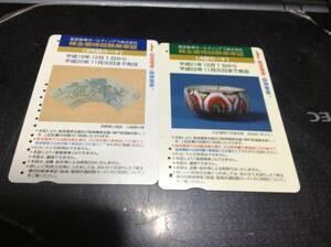 【使用済】 阪急阪神HD 株主優待回数乗車証 2種
