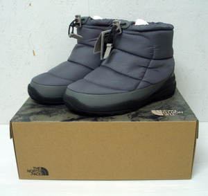 THE NORTH FACE ノースフェイス NF51586PT US5 23cm 防水防寒ブーツ 靴 NUPTSE BOOTIE WP Ⅳ SHORT ヌプシ 軽くて暖かいシューズ 送料無料
