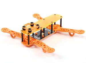 AquaPC★Color 250 Class FPV Racer Quadcopter Frame(Orange)★