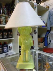ヴィンテージ☆オリエンタル ランプ☆照明、レトロ、陶器、50s、tiki、ポリネシアン、ミッドセンチュリー、ロカビリー、アメリカ