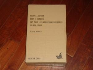 ホットトイズ 1/6 マイケル・ジャクソン Michael Jackson (今夜はビートイット版)