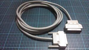 完動品FUJITSU富士通GRANPOWER 5000シリーズ専用サーバ プリンター電源ケーブルコード中古FMS-CBL711長さ3M規格パラレル端子D-sub25