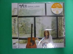 新品!YUI/Green a.live(限定盤DVD付)