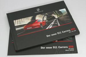 ポルシェ 911 991 カレラ GTS カタログ ドイツ語 2014 MY2015