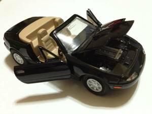 ロードスター NA6CE 黒 1/40 ヨネザワ ダイヤペット ミニカー