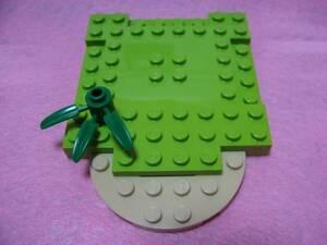 ☆レゴ-LEGO★小さなお庭等作成に★ステージ等に色々活用★新品★葉っぱ付き★ガーデニング