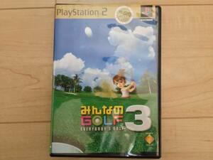 PS2 プレステ2 PlayStation2 みんなのGOLF3