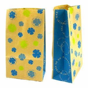 ☆お花の角底袋20枚☆プレゼント・ラッピング