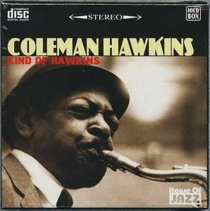 新品 Kind of Hawkins / Coleman Hawkins / コールマン・ホーキンス / 10CD 10枚組 ボックスセット ジャズ テナーサックス レターパック等