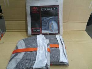 new goods unused TOYOTA original SNOW CAP 195/65R15 and so on!