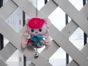 手作り文化人形マスコット*A☆ドールハンドメイドインテリア