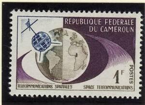 切手 宇宙 カメルーン CAMEROUN 4枚 未使用 025