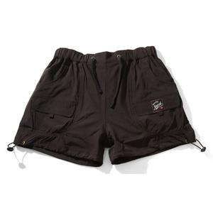 ヨガウェア/フィットネスエアロダンス/チアダンスショートパンツ M 黒色