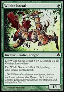 【ドイツ語】 ALA 野生のナカティル/Wild Nacatl 【NM-】 緑 C