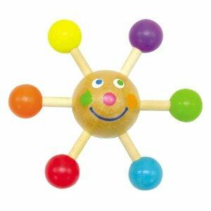 ★くるくる君★知育玩具★伝承玩具★触って簡単に回る★初めて出会うこま★色鮮やかなこま★持って離さない子供がいる○