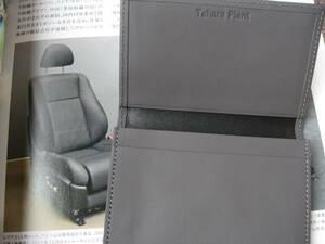 送料無料代引可即決《レクサスLS460純正最高級本革パスケース40系LSシート&内装用最高級セミアニリン本革使用名刺入れ限定品グレー系600hL