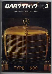 【b4719】66.3 CARグラフィック/メルセデスベンツ乗用車,メ...