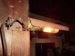 米国ヴィンテージ工場のスチールシェードライト♪インダストリアル男前照明ガレージカフェリノベーションアトリエアンティークレトロモダン