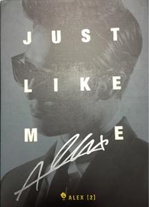 【ALEX】2集「JUST LIKE ME」直筆サイン付 ロマンスタウン