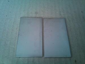 166★sus304 2B ステンレス切板 約40×約73 2mm 2枚
