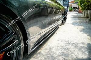 ★BMW F32 F33 F36 Mスポーツ カーボン サイド ステップ スポイラー スカート《左右ワンセット》