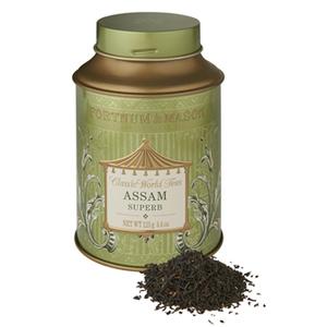 英国フォートナム&メイソン アッサム スパーブ 紅茶 125グラム 缶入り Fortnum &Mason Assam Superb